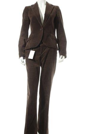 Zara Tailleur-pantalon brun foncé style décontracté