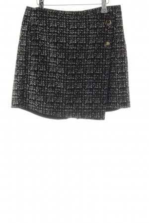 Zara Culotte Skirt abstract print casual look