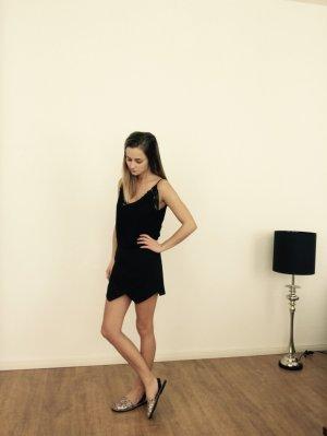 Zara Hosenrock Skirt Shorts Schwarz 34 XS Blogger