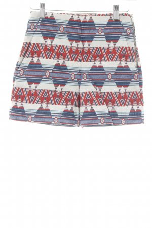 Zara Hot Pants abstraktes Muster Beach-Look