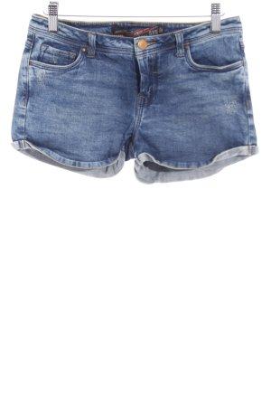 Zara Hot pants blauw casual uitstraling