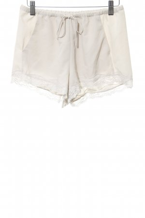Zara Hot Pants oatmeal casual look
