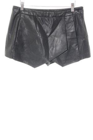 Zara Short moulant noir style décontracté