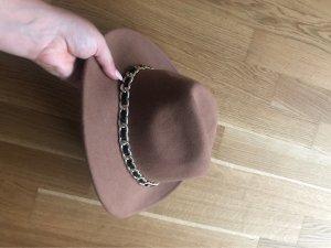 Zara Cowboyhoed grijs-bruin-goud