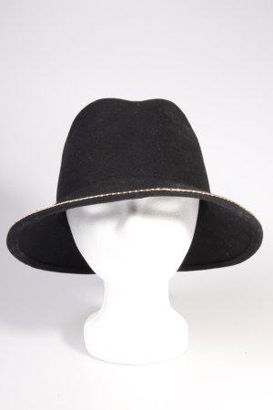 Zara Hut schwarz-gold