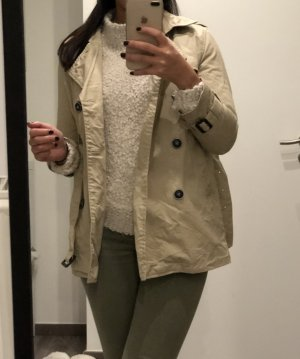 Zara Gabardina beige-crema