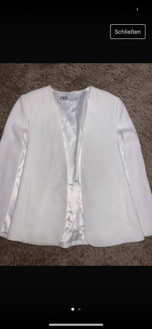 Zara Chaqueta de marinero blanco