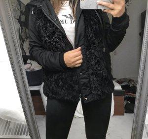 Zara Bontjack zwart
