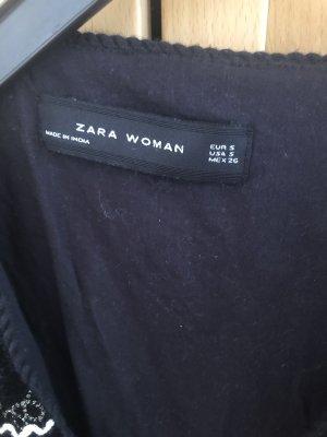 Zara Blazer corto nero-marrone chiaro