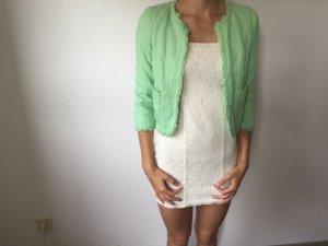 Zara Jacke/Blazer in hellem Sommergrün