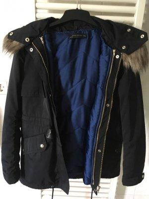 Zara Veste bleu-bleu foncé