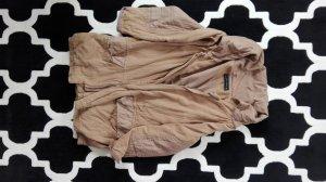 Zara Veste oversize chameau
