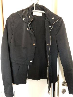 Zara Chaqueta con capucha negro