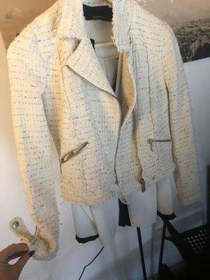 Zara Veste courte blanc