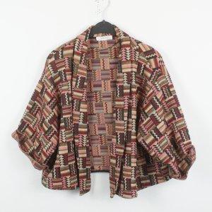Zara Jacke Gr. M bunt gemustert oversized (19/02/204)