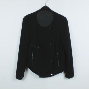 Zara Basic Overgangsjack zwart Polyester