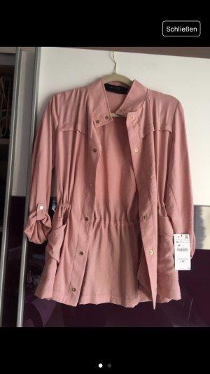 Zara Jacke/ Hemd rosa