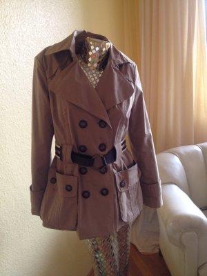 Zara Jacke im Trenchcoat-Stil