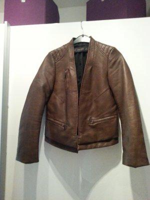 neue Stile online zu verkaufen wähle echt Zara Jacke Imitation Leder Damen Größe S