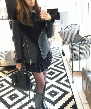 Zara Jacke Mante Gr  xxl Blogger
