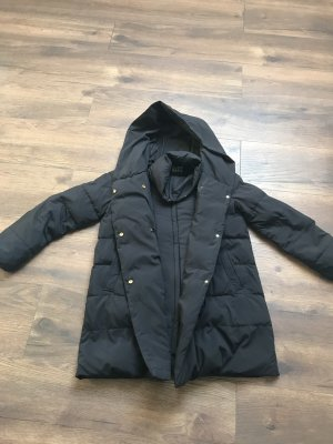 Zara Hooded Coat black