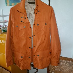 ZARA Jacke orange Gr.S (M) *top*