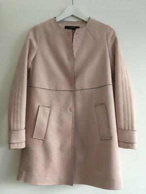 Zara jacke rosa nude