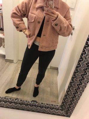 Zara Oversized jack roségoud