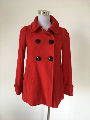 Zara Basic Chaqueta de marinero rojo