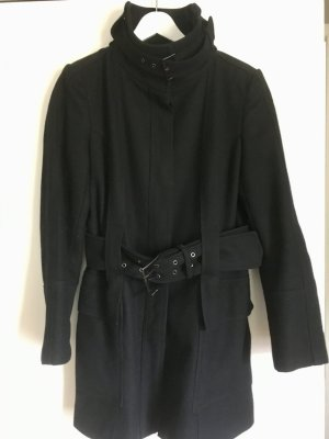 Zara Veste noir laine