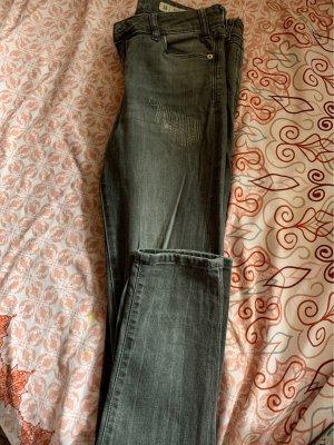 Zara Jeans skinny gris