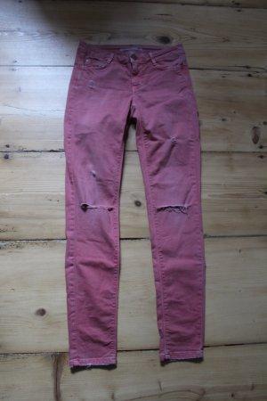 Zara Slim jeans roze