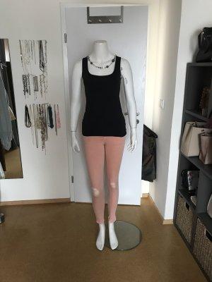 Zara Drainpipe Trousers pink