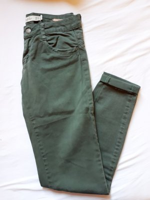 Zara 7/8 Length Jeans khaki