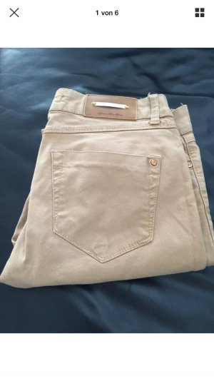 Zara Jeans beige Gr. 36 slim fit