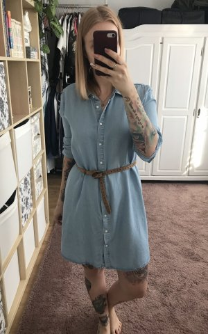 Zara Denim Dress multicolored