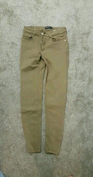 Zara Jeans braun Neu S 36