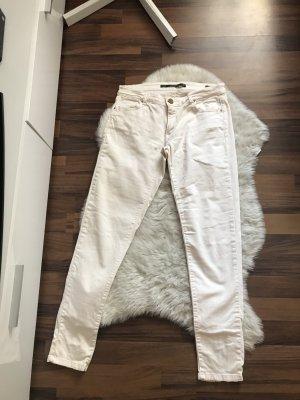 Zara Jeans Creme 38 S