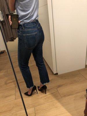 Zara Boot Cut spijkerbroek veelkleurig