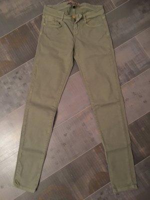 Zara Jeans Denim grün Gr. 36 slim