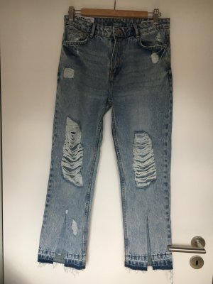 Zara Jeans destroyed 36 38