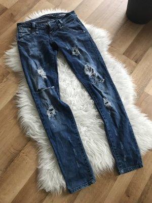 Zara Jeans bleu foncé