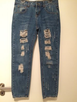 Zara Jeans destroyed used