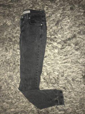 Zara jeans dunkelgrau gr. 34