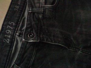 Zara Jeans dunkelgrau Skinny 38