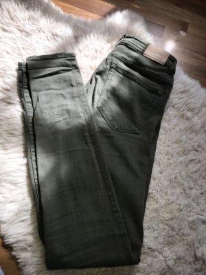 Zara Jeans cigarette kaki
