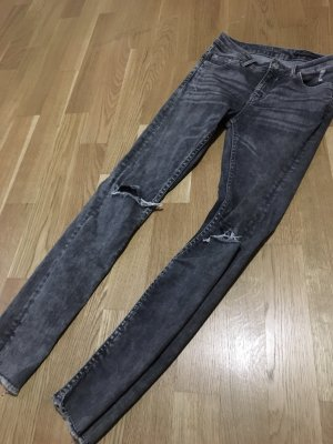 Zara Stretch Jeans light grey-grey