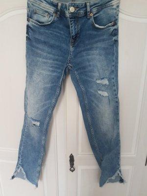 Zara Jeans a 7/8 blu