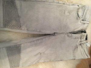 Zara Jeans gris clair