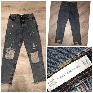 Zara Jeans gr 26 zerrissene Detroyed Highwaist Jeans